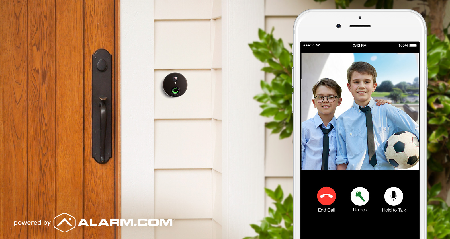 SkyBell Video Doorbell - Houston Home Security